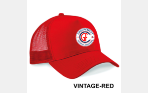CASQUETTE VINTAGE RED