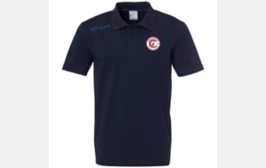 Polo Essential Bleu UhlSport saison 2019/2020
